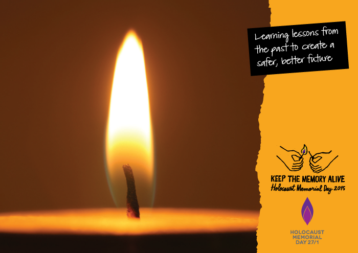 Holocaust Memorial Day January 27th